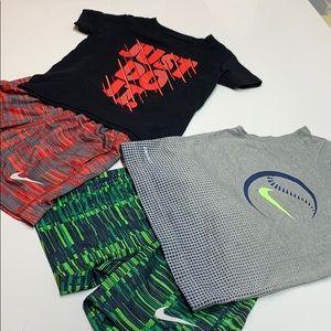 2 Nike Boys short & top sets Size 2T ( 1-2 yrs )